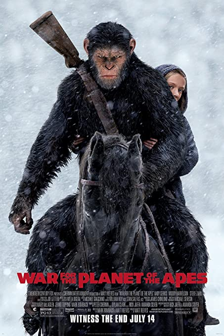 Amazon Com War For The Planet Of The Apes Movie Poster Limited Print Photo Woody Harrelson Size 11x17 3 Everything Else
