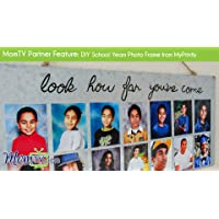 MomTV Partner Feature: DIY School Years Photo Frame from MyPrintly