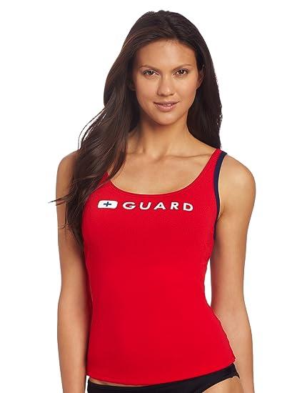 dba7c7b7f8fc8 Amazon.com  Speedo Women s Guard Tankini  Sports   Outdoors