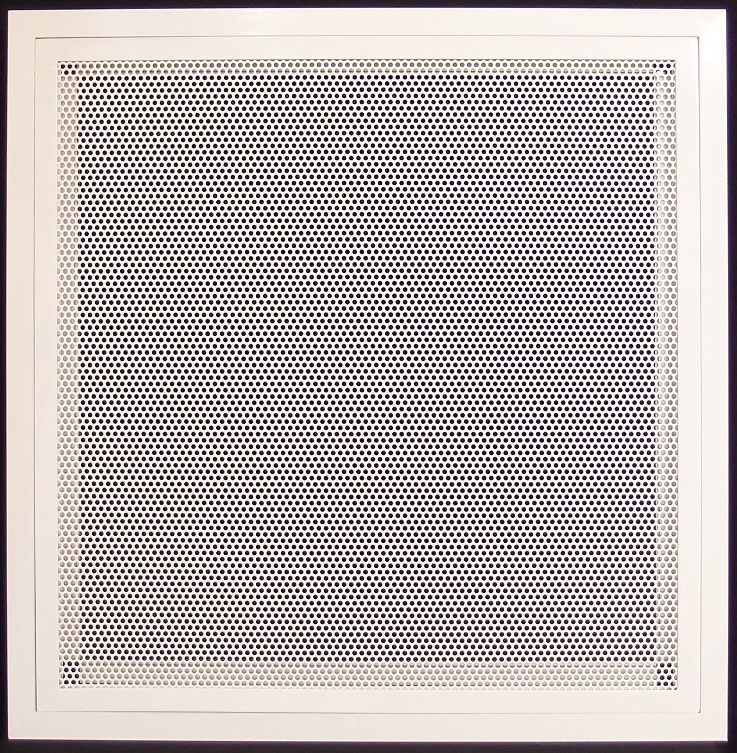 """20"""" X 30"""" Aluminum Return Filter Grille with Easy Push Self Lock & Re-Useable Mesh Filter - Return Air HVAC Vent Duct [Outer Dimensions: 21.2w X 31.2h"""