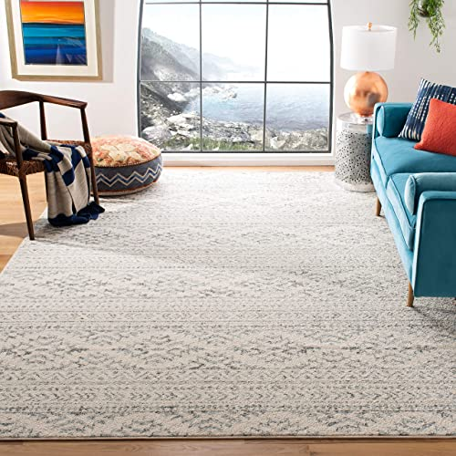 Safavieh Tulum Collection TUL272A Moroccan Boho Tribal Non-Shedding Stain Resistant Living Room Bedroom Area Rug