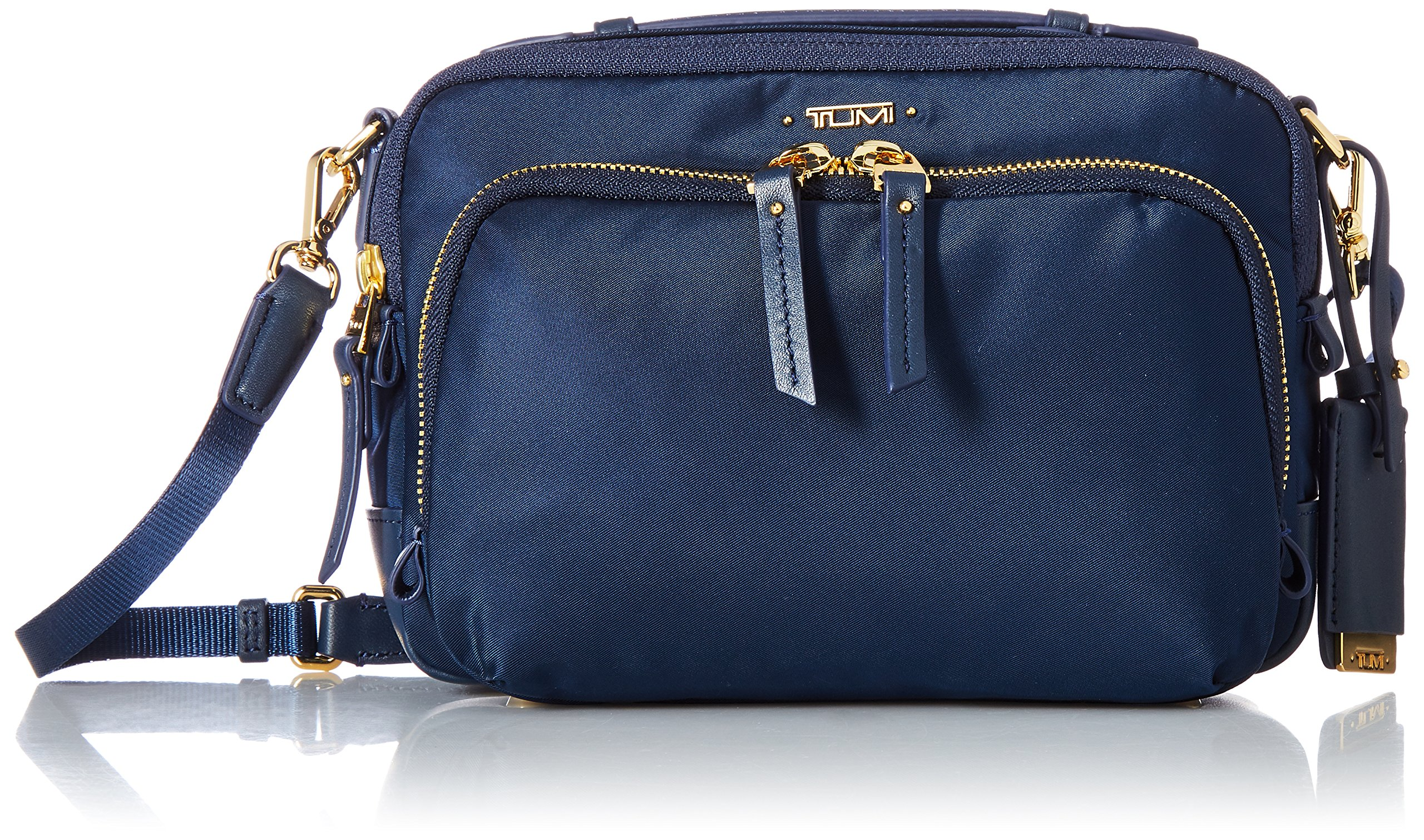 Tumi Women's Voyageur Luanda Flight Travel Cross-Body Bag, Ocean Blue, One Size