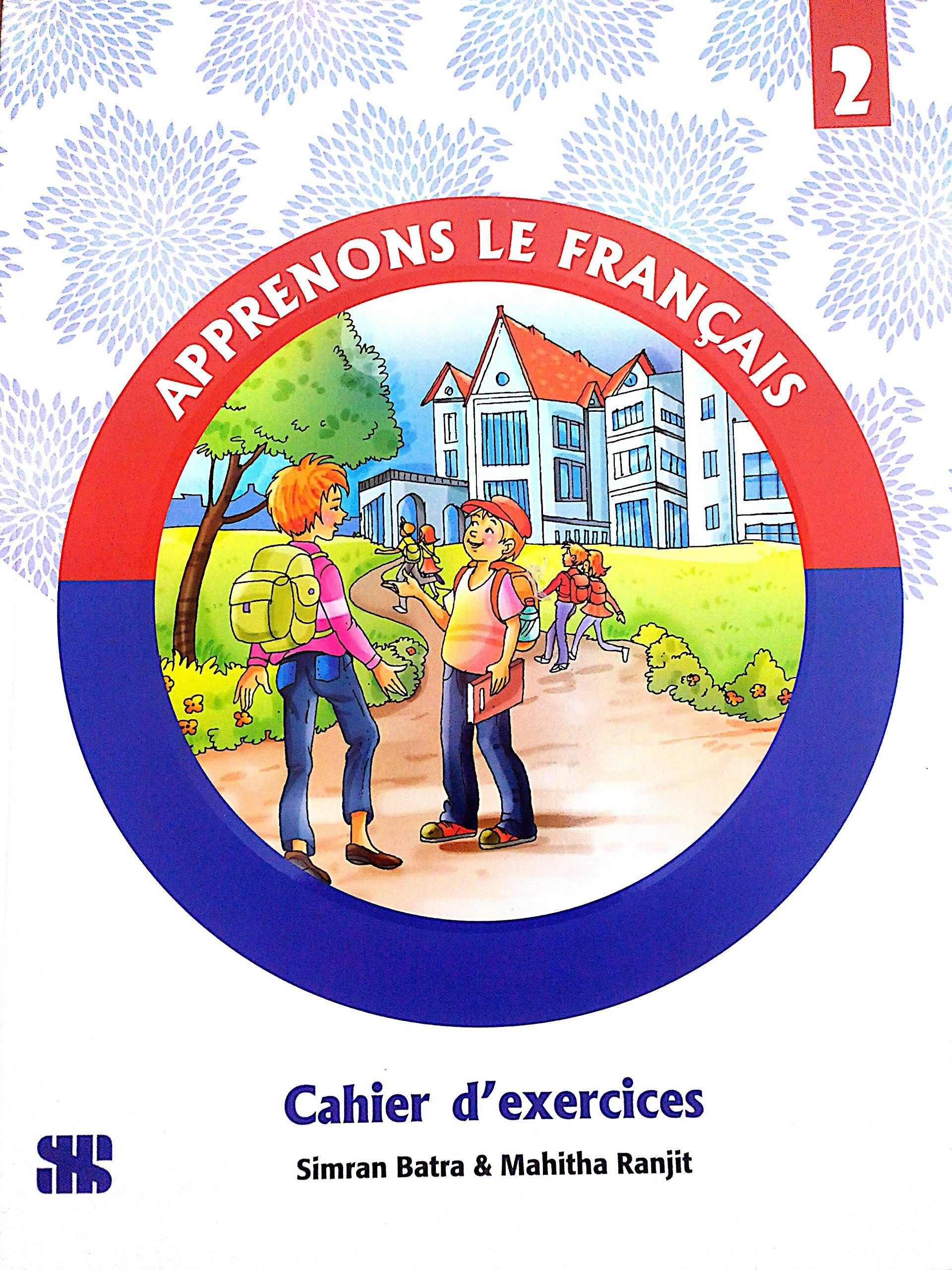 Apprenons Le Francais 2 Educational Book Amazon Mahitha