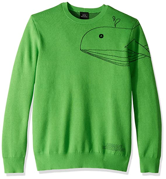 Amazon.com: A|X Armani Exchange Sea Creature suéter para ...