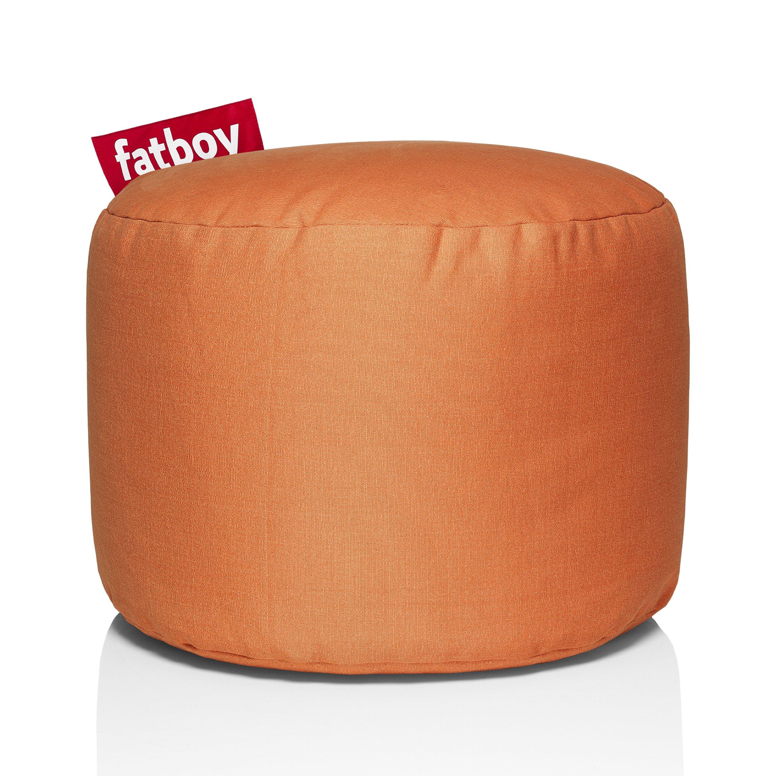 Fatboy Point Stonewashed Bean Bag, Orange by Fatboy