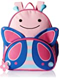 Skip Hop Zoo Toddler Kids Insulated Backpack Blossom Butterfly Girl, 12 inches, Pink