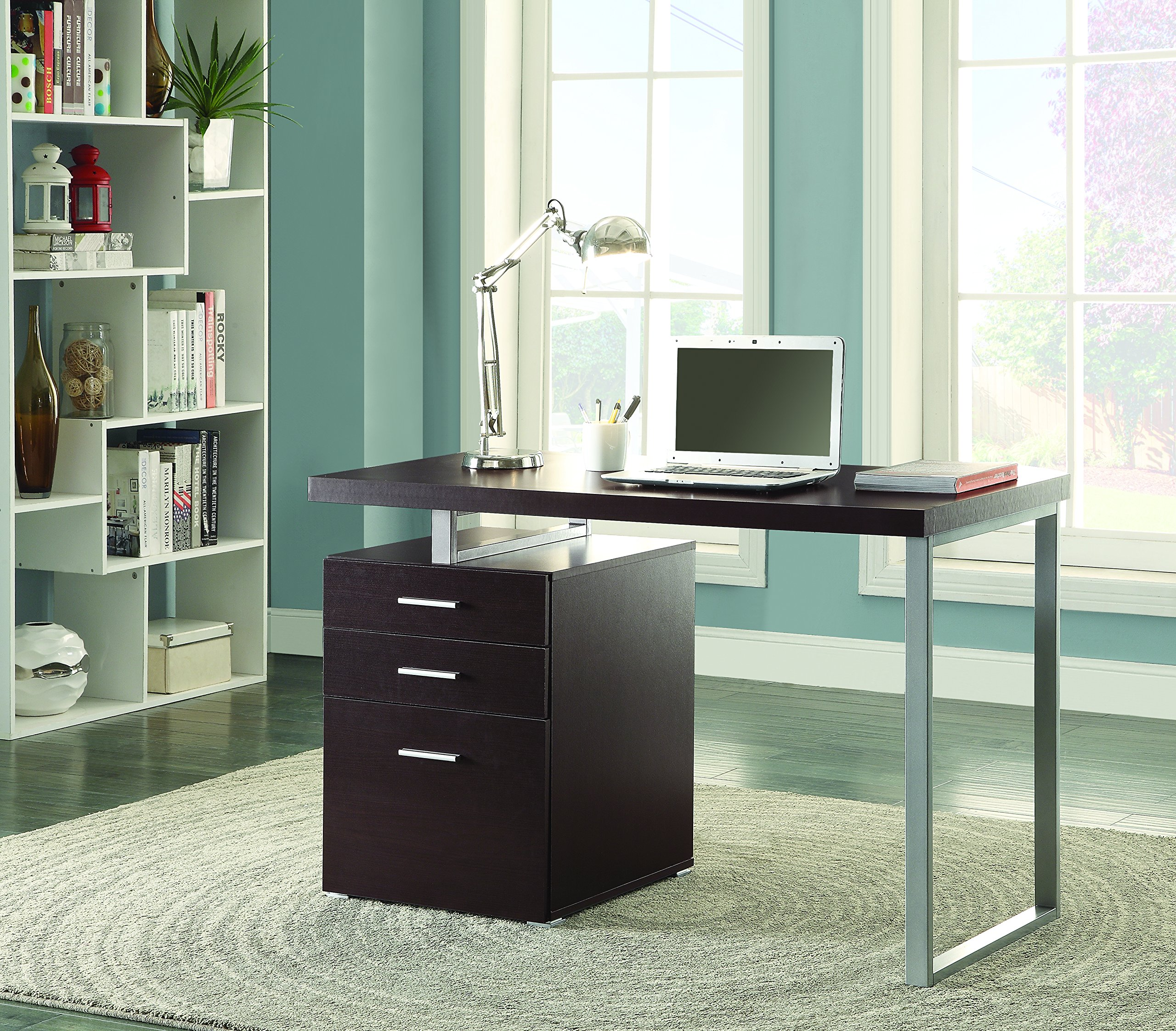 Coaster Home Furnishings Modern Contemporary Reversible Office  # Muebles Coaster