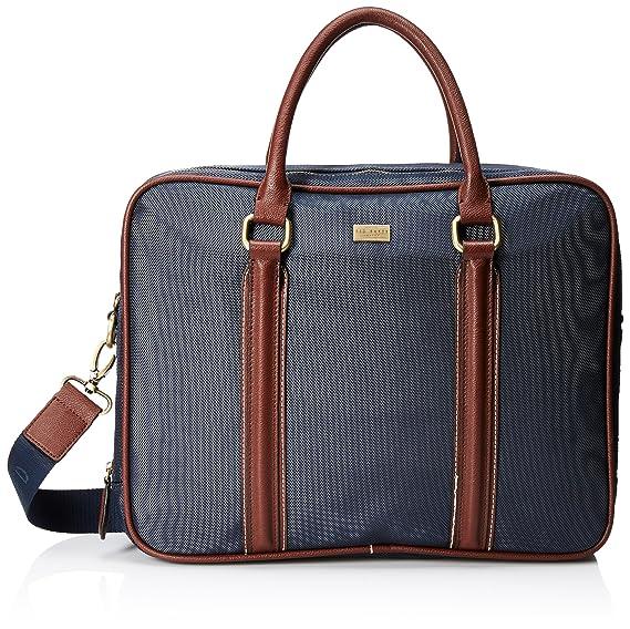 4fb8f917cf4aff Ted Baker - Laptop Bags - Men - Navy Blue Carbon Nylon  Amazon.co.uk   Electronics