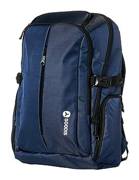Goodis 5563277 Mochila para Ordenador portátil, 17 Pulgadas, Azul: Amazon.es: Informática