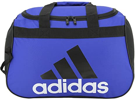 ff18d803aabd Amazon.com  adidas Diablo Duffel Bag-BOLD BLUE BLACK WHITE