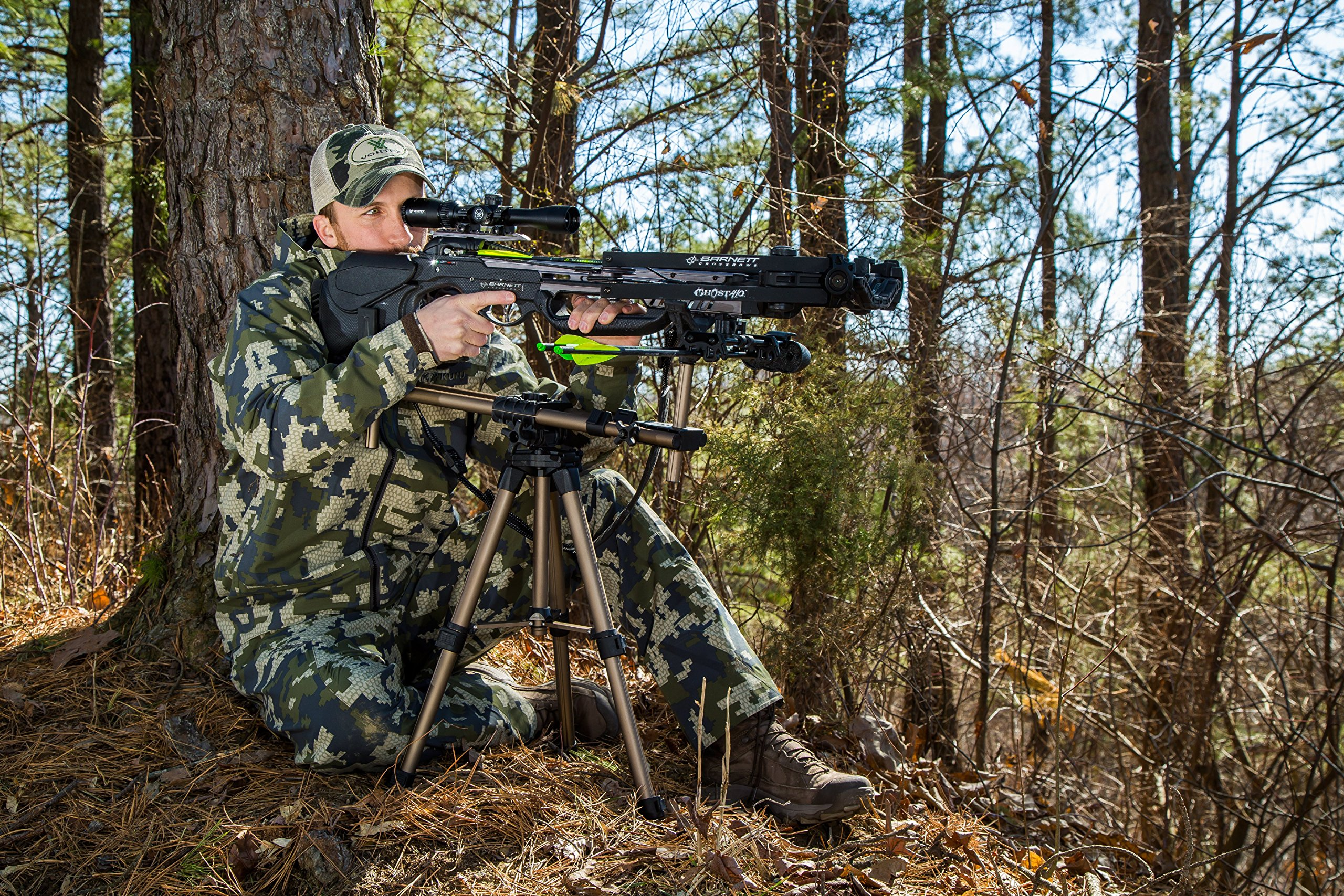Caldwell DeadShot FieldPod Adjustable Ambidextrous Rifle Shooting Rest for Outdoor Range and Hunting by Caldwell (Image #3)