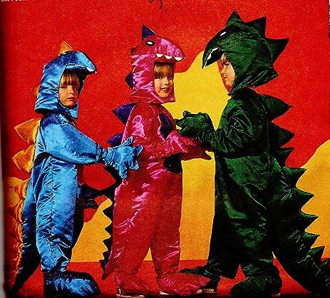 Amazon Child Dinosaur Costume Sewing Pattern Mccalls 6219 Size