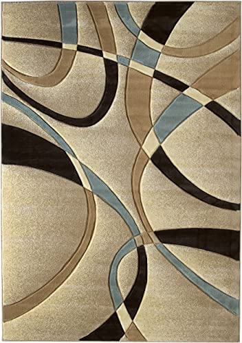 United Weavers of America Contours Collection La Chic Area Rug