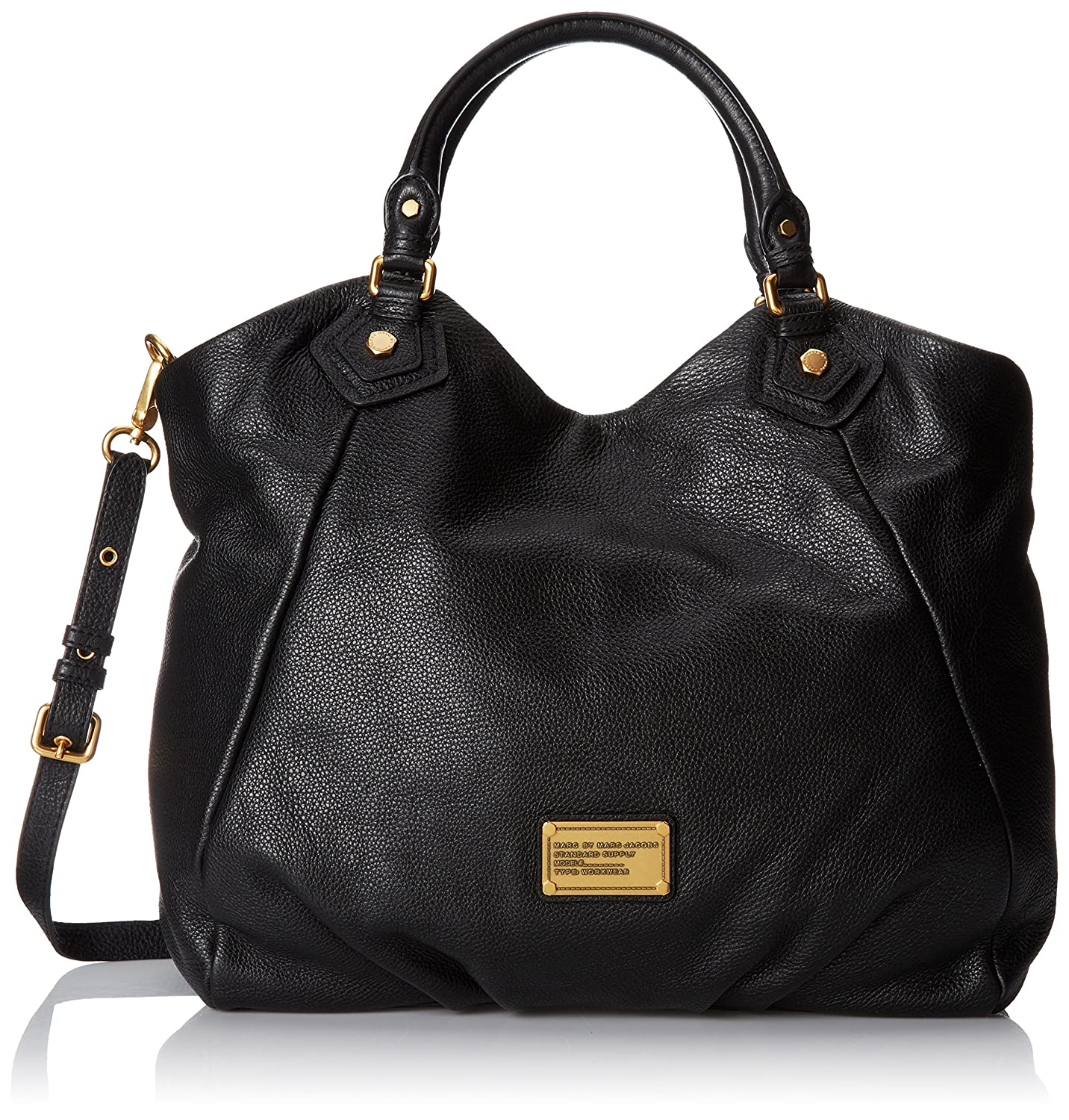 236682594dd Amazon.com: Marc by Marc Jacobs Classic Q Francesca Satchel Black One Size:  Marc By Marc: Clothing