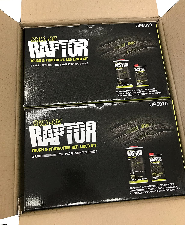Amazon Raptor Up5010 Black 4 Liter Kit With Roller Coating Roll