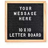 Felt Letter Board - Oak Trim