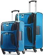 Samsonite Aspire Xlite Softside Expandable Luggage with Spinner Wheels, Blue Dream,