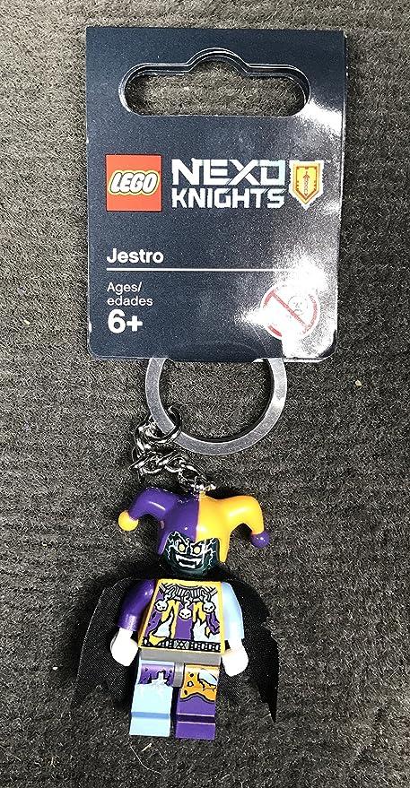 Jestro Nexo Knights Lego keychain