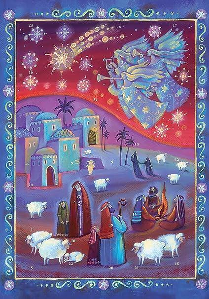 Calendario Religioso.Coppenrath Calendario Dell Avvento La Veglia Dei Pastori