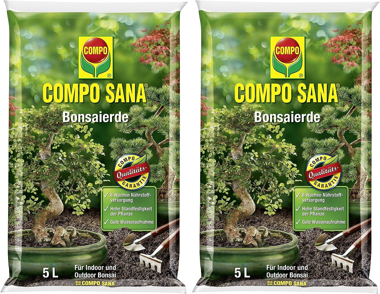 Compo Sana–Bonsai Tierra con 8semanas abono para Todas Las Habitaciones de y Jardines. Bonsai, sustrato