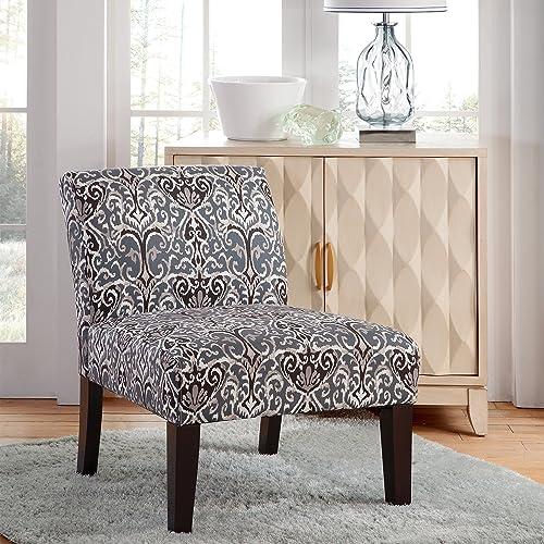 Carver Avington Midnight Scroll Slipper Chair