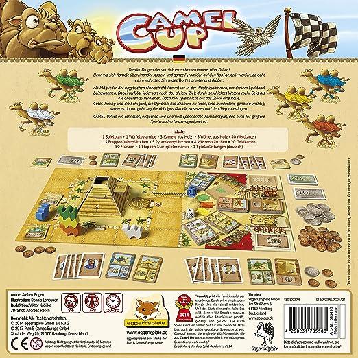 Pegasus Spiele - Juego de Mesa, de 2 a 8 Jugadores (PEG54541G) (Importado): Amazon.es: Juguetes y juegos