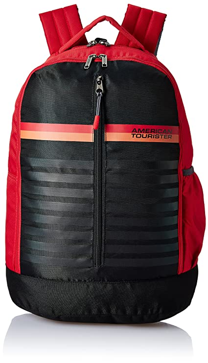 9be04d7d48a American Tourister 28 Ltrs Red Casual Backpack (AMT PING Backpack 01 - RED)
