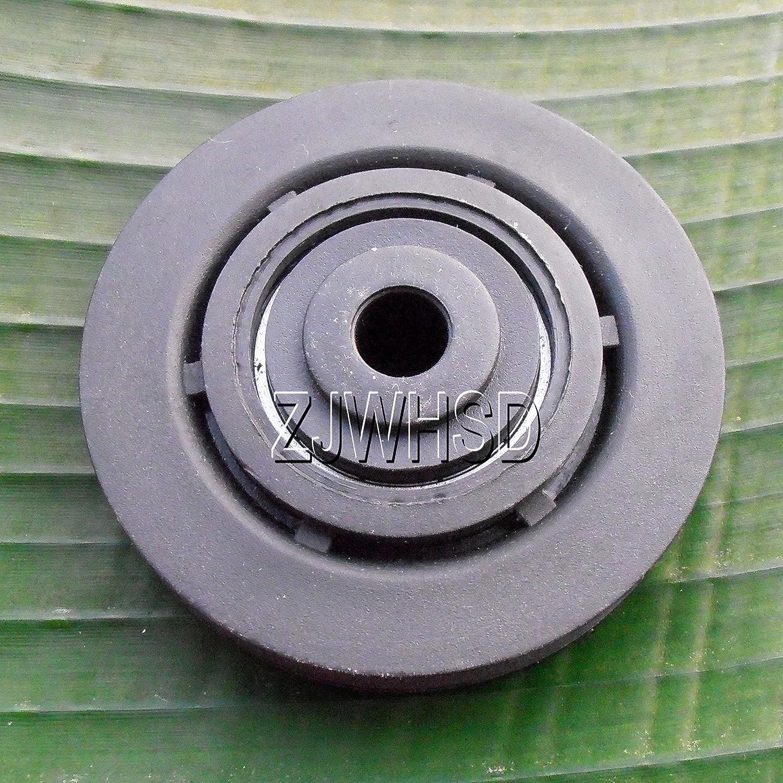 Universel 73mm 7,6cm en nylon Roulement Poulie de roue câble Gym Fitness pièces de rechange d'Abbott