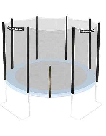 Ultrasport Jumper - Red de seguridad para cama elástica de jardín, 180-430 cm
