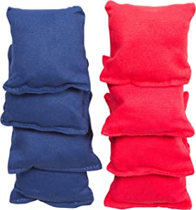 """Small Sized Bean Bags - 3.5"""" x 3.5"""" By Tailgate360 (Red and Blue)"""