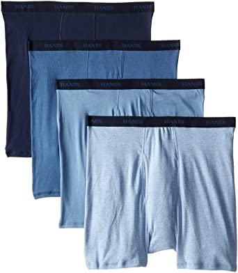 1a7e3c030b7f Hanes Men's Boxer Briefs 5-Pack at Amazon Men's Clothing store: