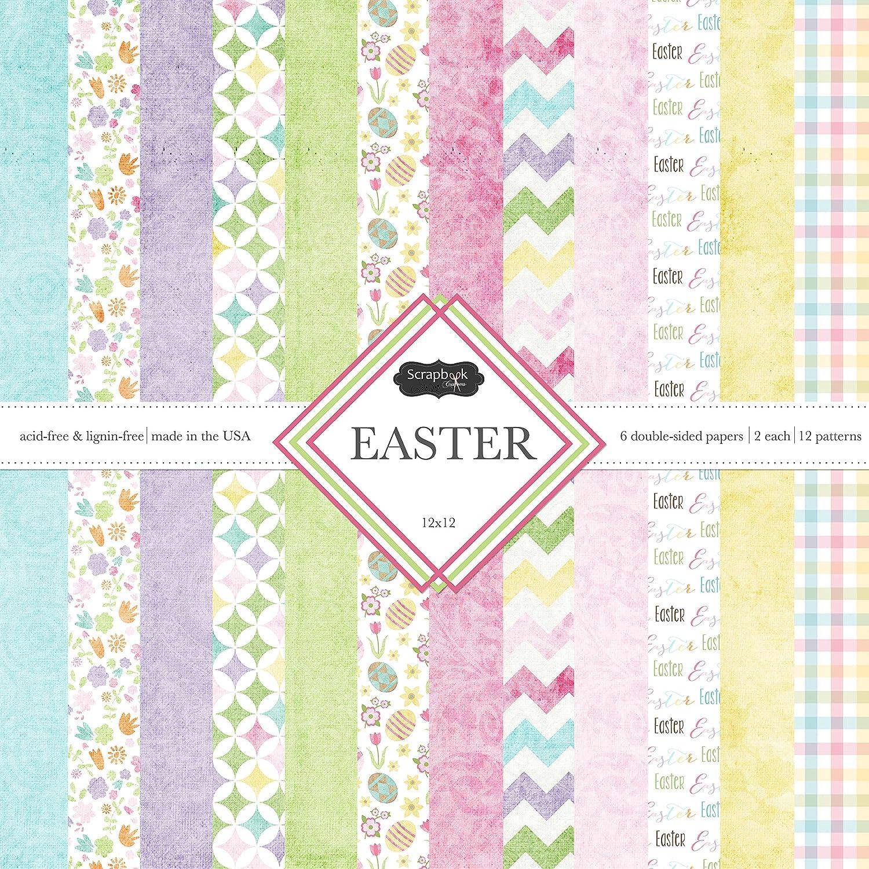Scrapbook Customs Themed Paper Scrapbook Kit Easter