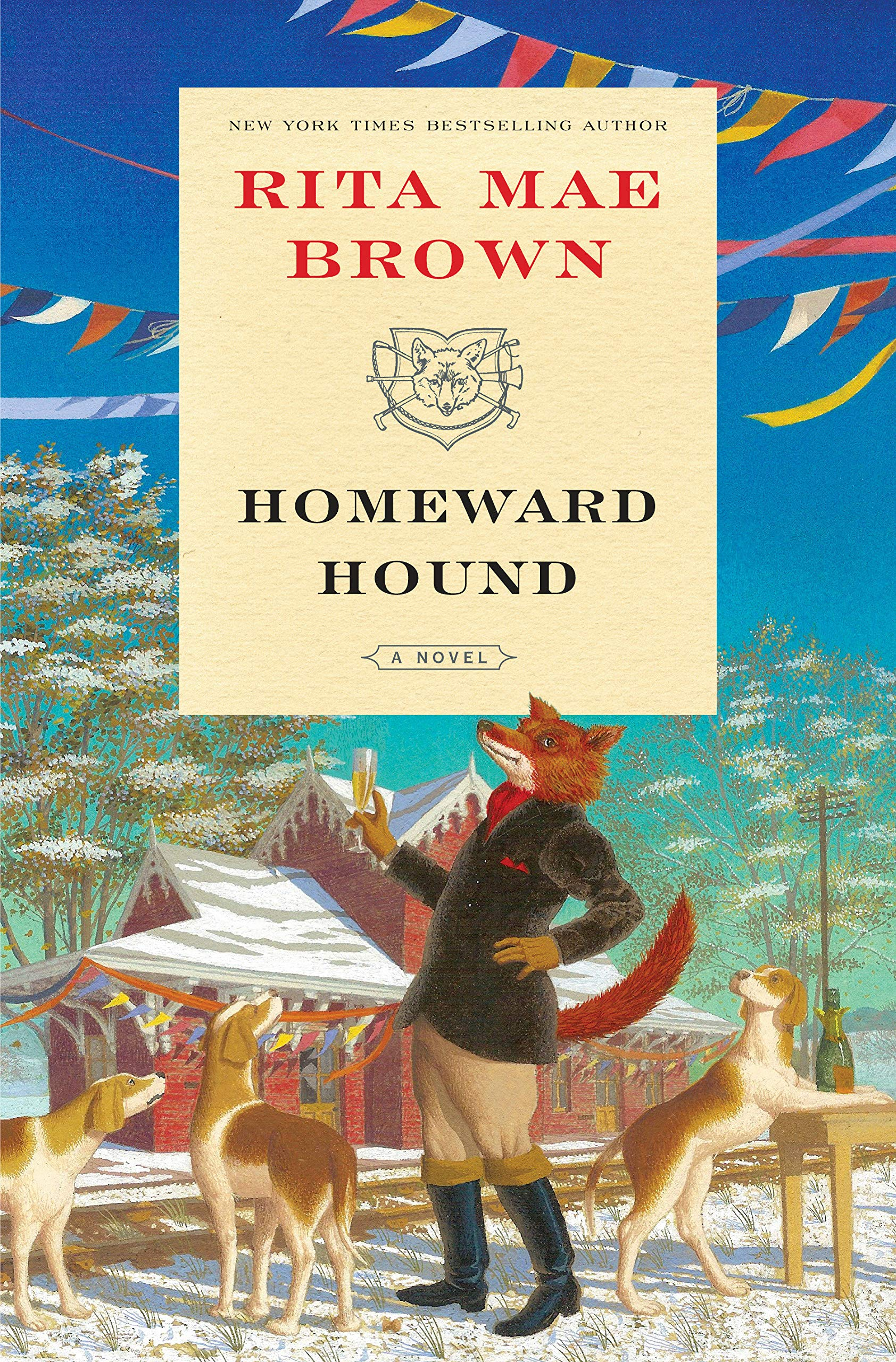 "Amazon.com: Homeward Hound: A Novel (""Sister"" Jane) (9780399178375): Rita  Mae Brown: Books"