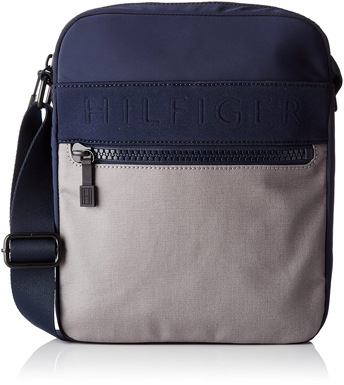 Tommy Hilfiger Am0am02077 Navy//Frost Grey Men/'s Messenger Bag WxHxL 14x29x37 cm Multicolor