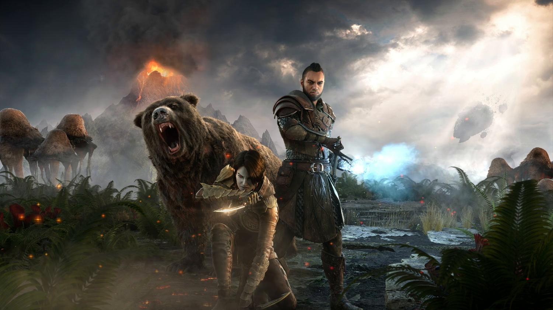 Amazon Com The Elder Scrolls Online Morrowind Playstation 4
