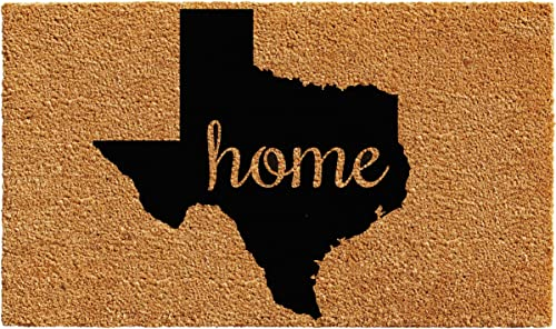 Calloway Mills 102442436 Texas Doormat, 24 x 36 , Natural Black