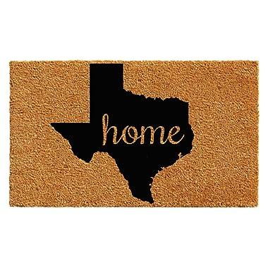 Calloway Mills 102442436 Texas Doormat, 24  x 36  Natural/Black