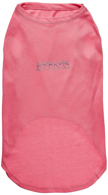Mirage Pet Products Beach Sandals Rhinestone Pet Shirt, 3X-Large, Bright Pink