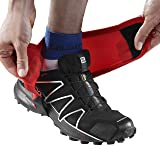 Salomon Low Trail Gaiters, Bright Red, Size 9.5