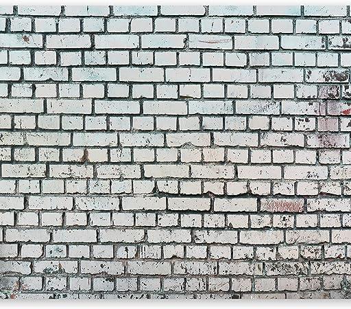 Imagen demurando Fotomurales 150x105 cm XXL Papel pintado tejido no tejido Decoración de Pared decorativos Murales moderna Diseno Fotográfico Ladrillo Textur Muro f-a-0483-a-c