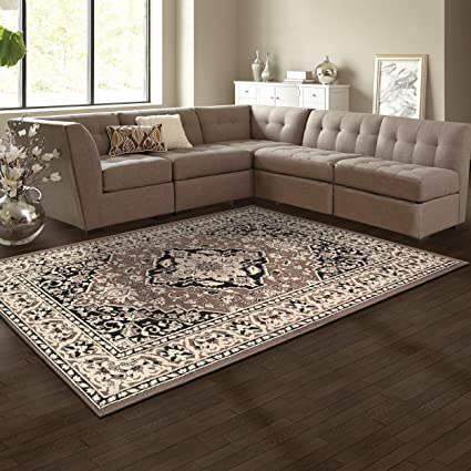 Superieur Superior Elegant Glendale Collection Area Rug, 8mm Pile Height With Jute  Backing, Traditional Oriental