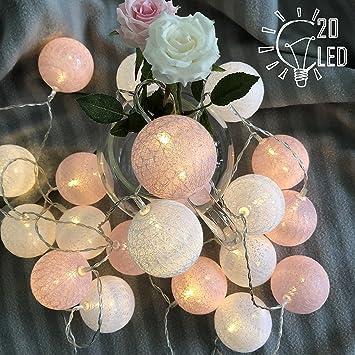 huge selection of d90e0 35cf5 Gladworts Decorative String Lights for Bedroom Led Globe Newborn Decor  Balls, USB Powered Indoor...