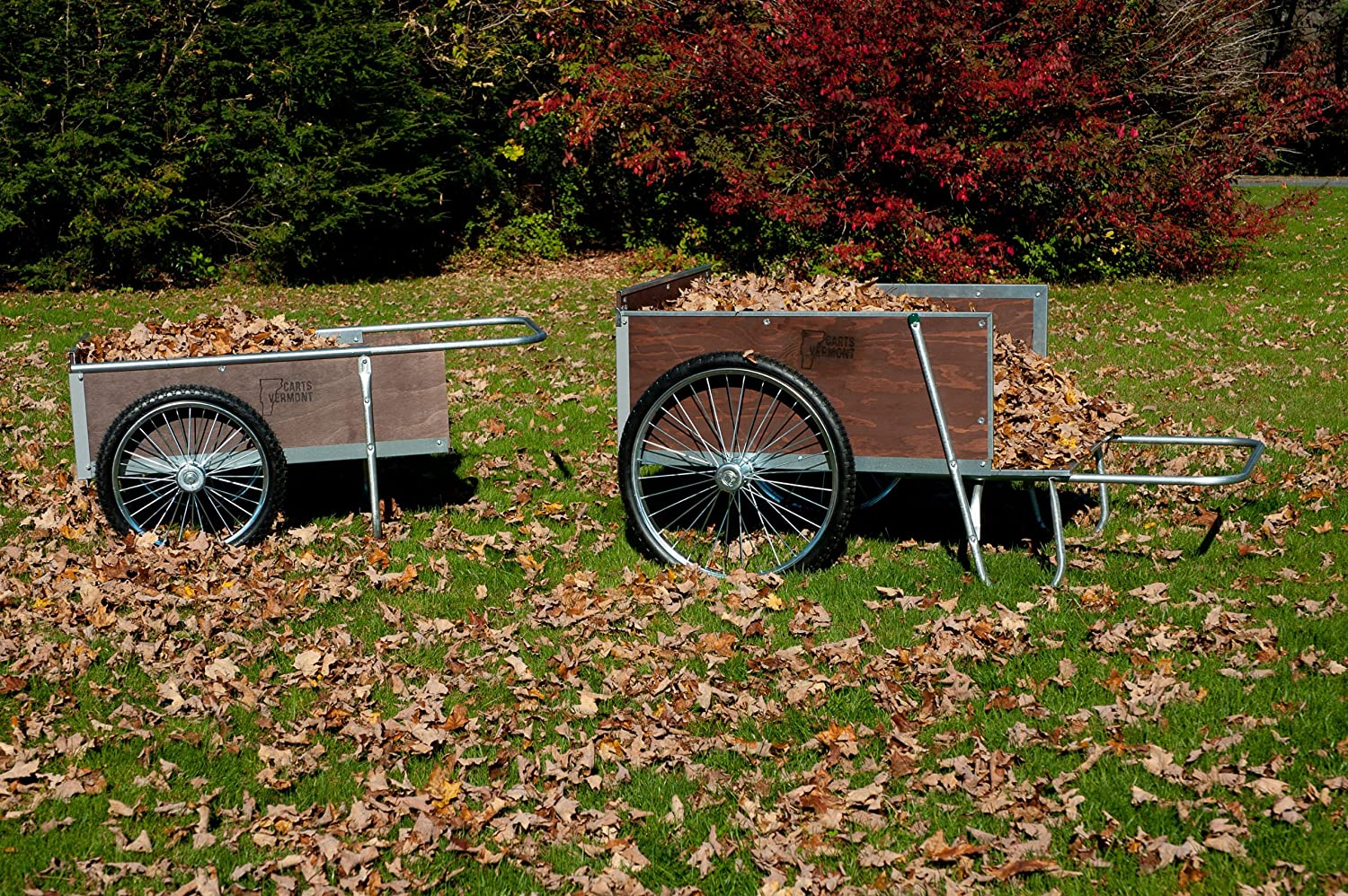 Amazon.com : M26P Large Yard/Garden Cart with Pneumatic wheels ...
