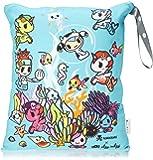 Itzy Ritzy Tokidoki Travel Happens Large Sealed Wet Bag, Underwater Adventure