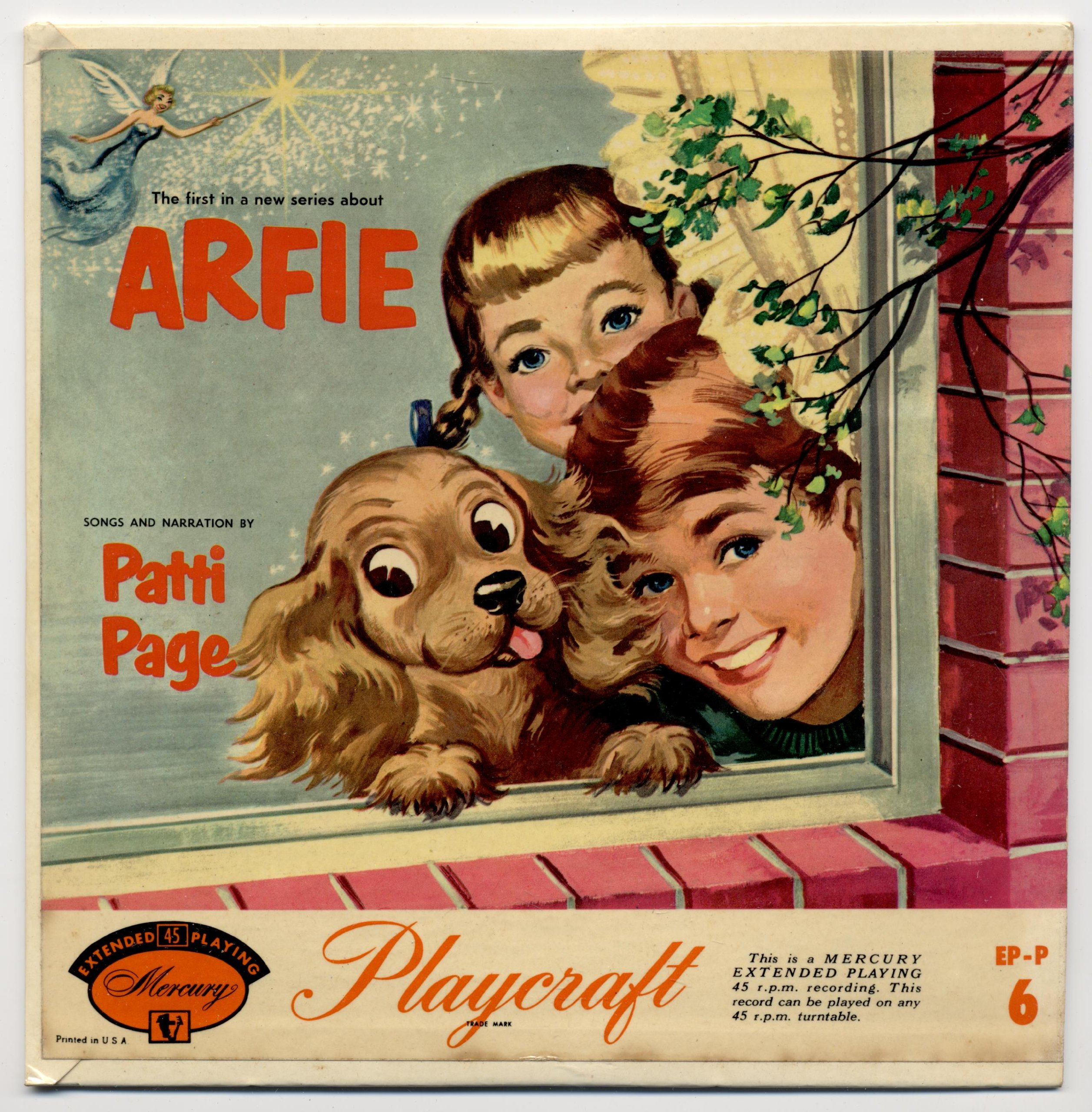 ''Arfie'' Songs & Narration By Patti Page