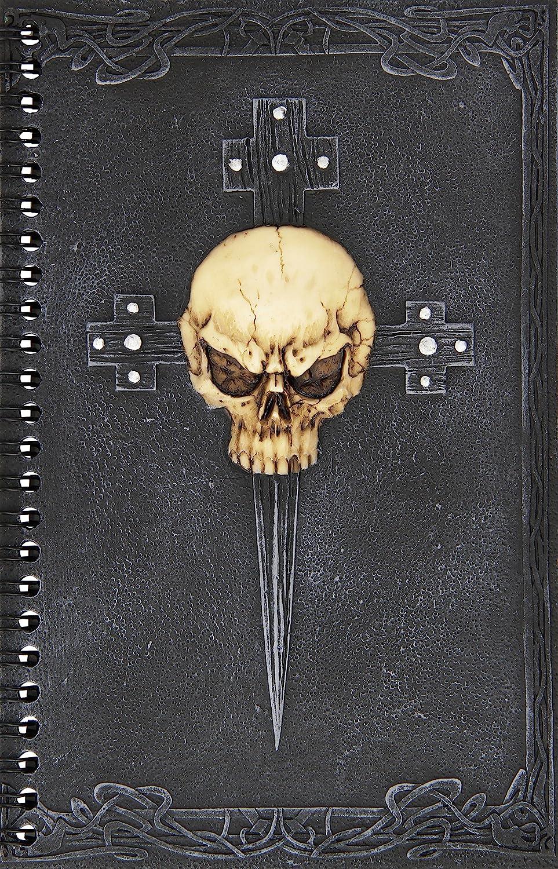 Design Toscano Gothic Skull Cross Secret Journal