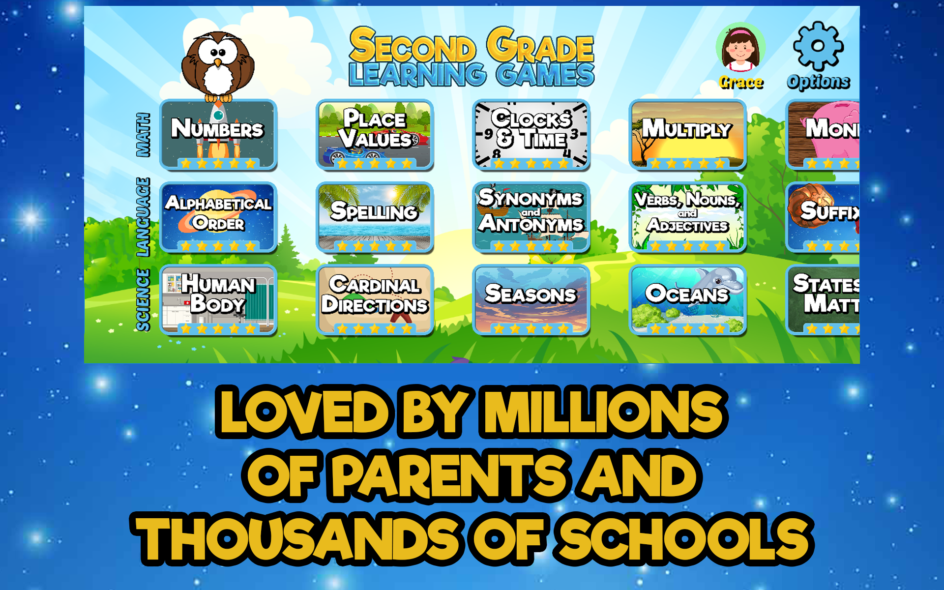 Amazon.com: Second Grade Learning Games Free: Appstore for ...