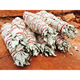Native American White Sage Smudge Stick - 100% Native American Created and Blessed - Cleanse, Heal - Arizona Grown, Harvested, Blessed POWERFUL!