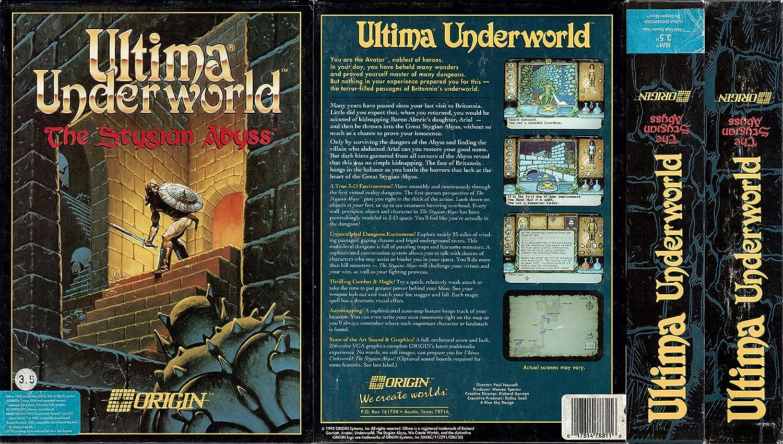 Amazon com: Ultima Underworld: The Stygian Abyss: Origin