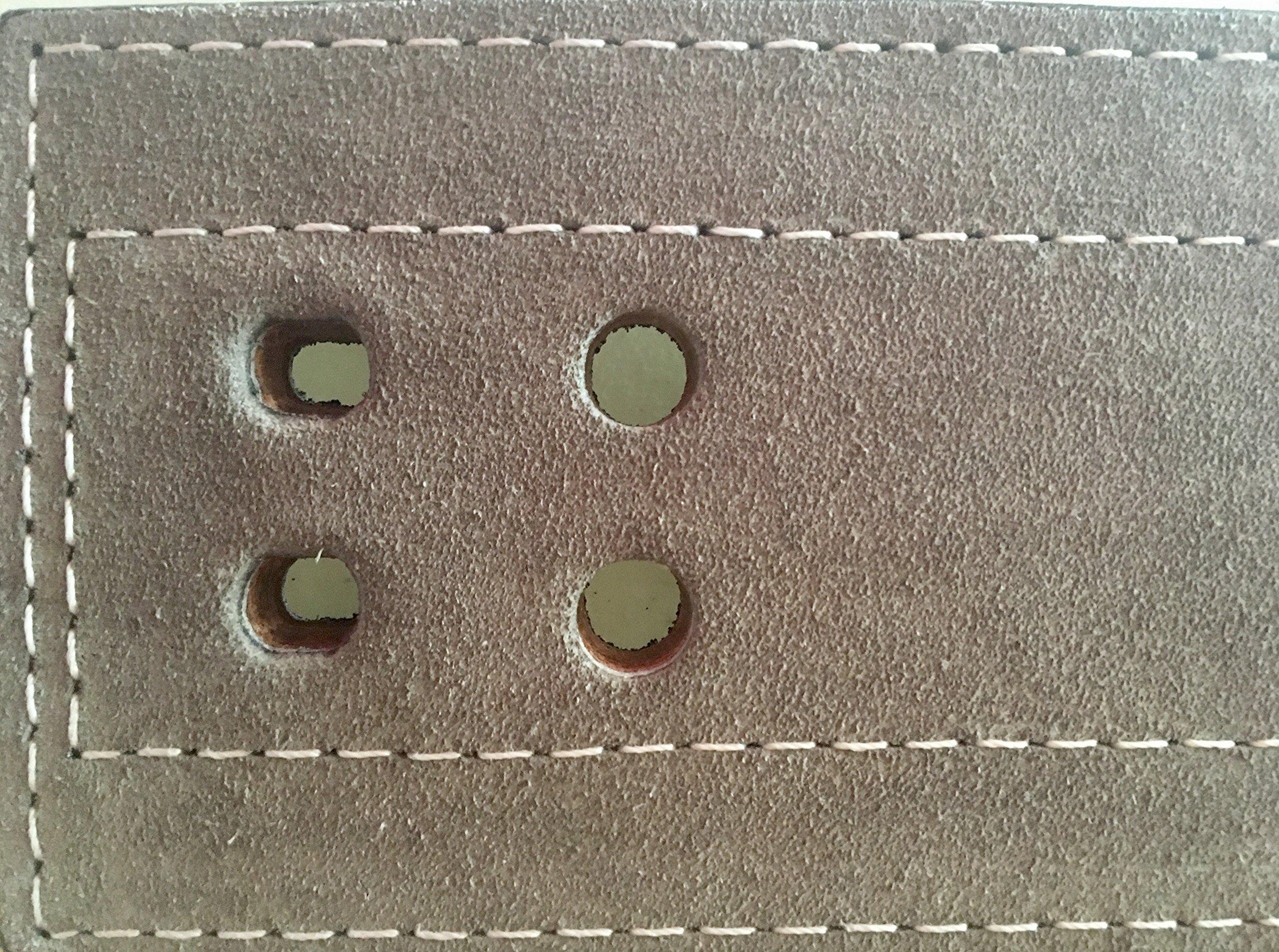 Inzer Advance Designs Forever Lever Belt 10MM (Charcoal, 3X-Large)